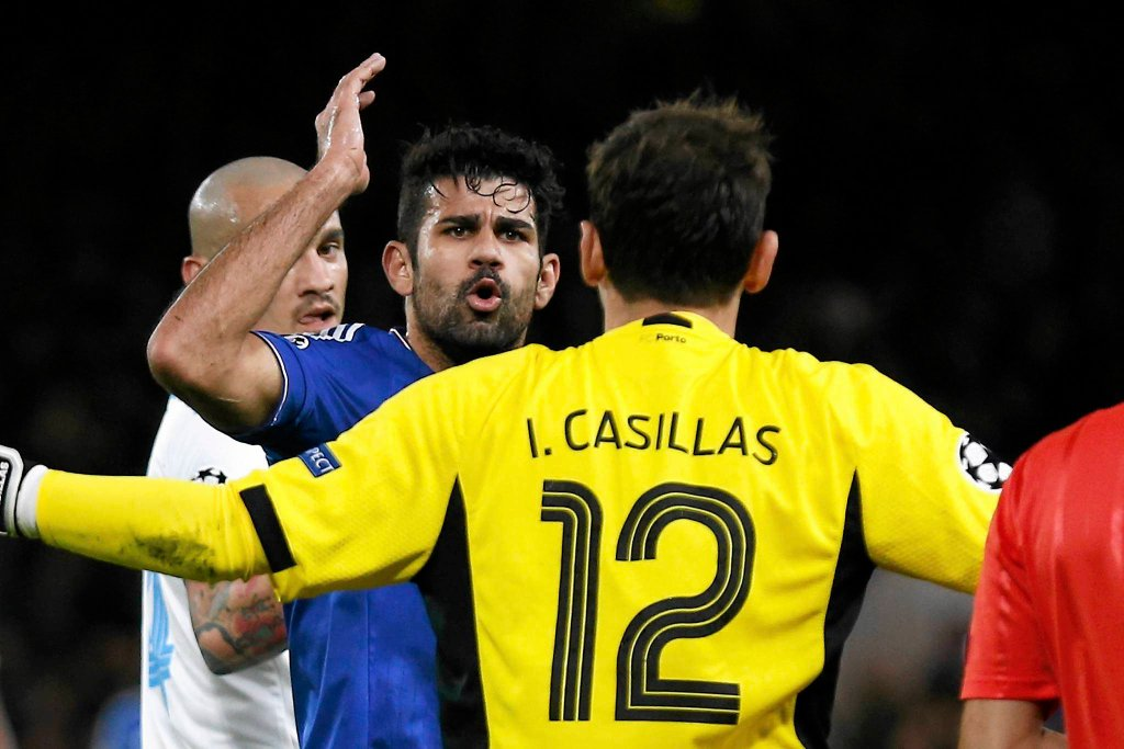 Diego Costa i Iker Casillas