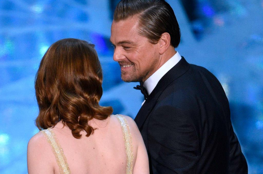 Emma Stone, Leonardo DiCaprio