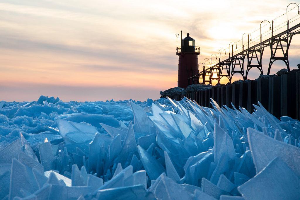 Jezioro Michigan w Stanach Zjednoczonych