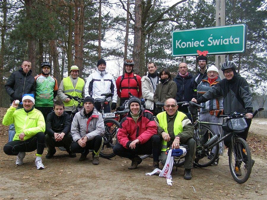 Klub Turystyki Kolarskiej Cyklista z Kalisza zorganizował wycieczkę na koniec świata.