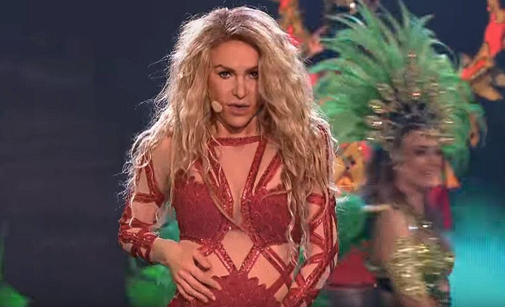 Katarzyna Dąbrowska jako Shakira - Twoja Twarz Brzmi Znajomo