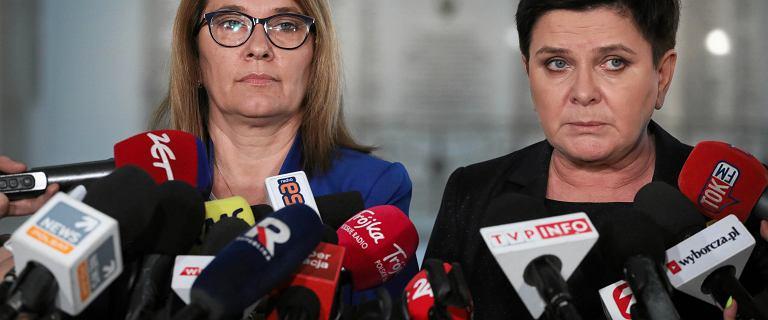 Szydło i Mazurek dziękują za zawieszenie strajku. Plany rządu bez zmian