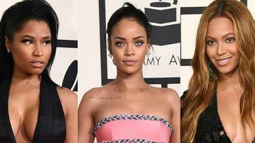 Nicki Minaj, Rihanna, Beyonce