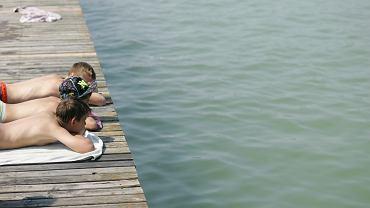 Sinice. Lista zakażonych kąpielisk