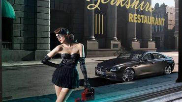 Nowoczesne BMW w burleskowym sosie