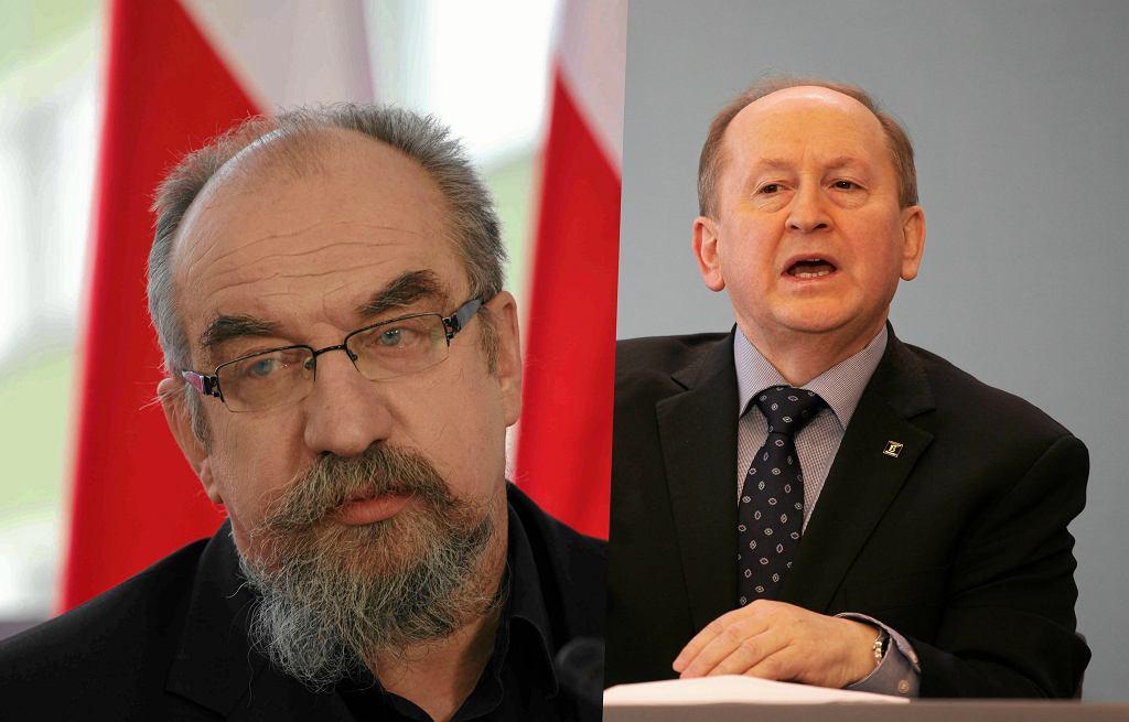Witold Modzelewski i Krzysztof Pietraszkiewicz