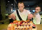 Kawior, ryż i wasabi, czyli sushi w barwach Legii