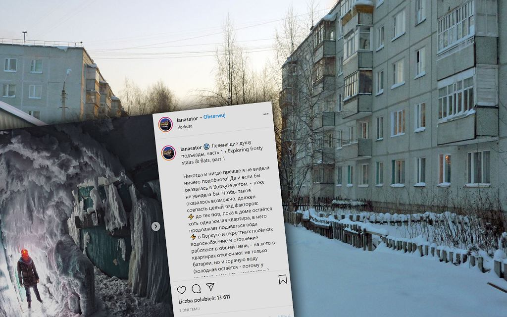Mieszkania skute lodem