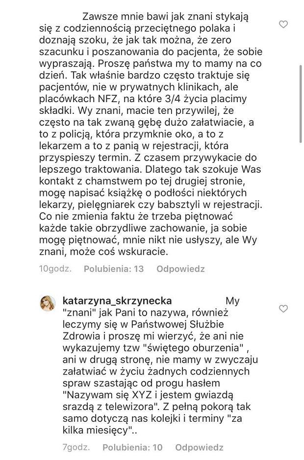 Komentarz Katarzyny Skrzyneckiej