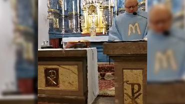 Nagranie mszy z Uniejowa