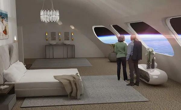 Kosmiczny hotel Voyager