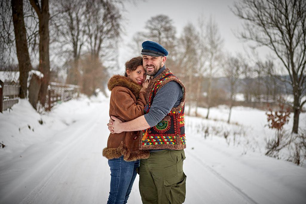 Marina i Marcin Piotrowscy