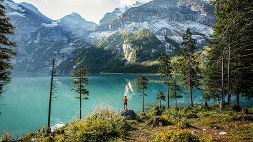 Letnia wędrówka w Szwajcarii