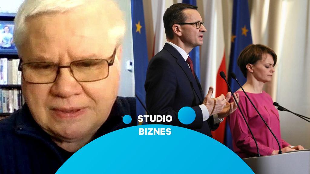 Prof. Jerzy Hausner ocenia działania rządu ws. koronawirusa