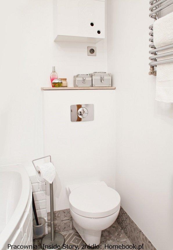 Inspiracje Półki I Schowki W Małej łazience