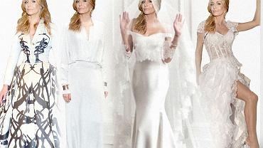 Małgorzata Rozenek w sukni projektu