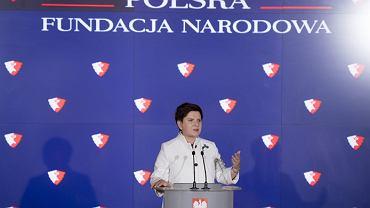 Polska Fundacja Narodowa została powołana do życia, kiedy premierką była Beata Szydło