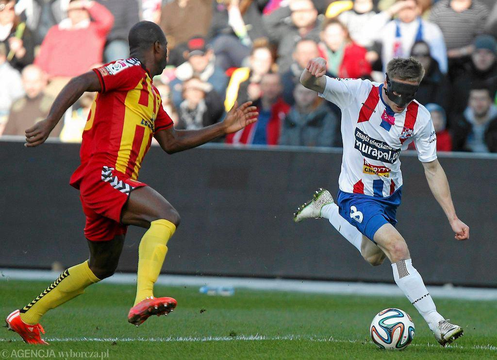 Leandro wrócił do składu i wreszcie zagrał dobry mecz w Koronie