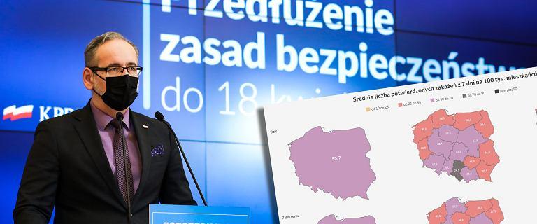 Regionalizacja obostrzeń 'pewna'. Trzy województwa najbliżej luzowania