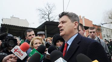 Janusz Palikot w Zielonej Górze
