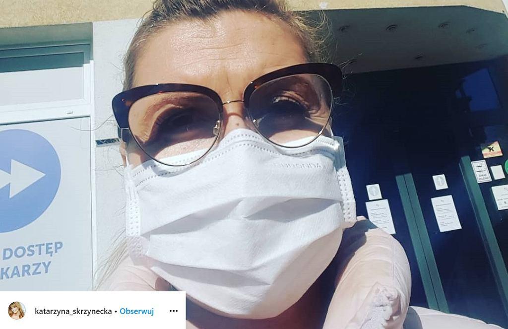 Katarzyna Skrzynecka o problemach finansowych przez koronawirusa
