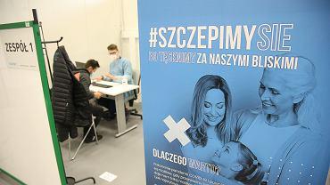 Szczepienia przeciwko Covid-19 we Szczecinie, 16.04.2021 r.