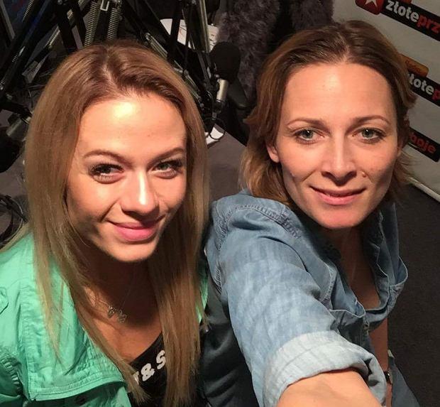 Odeta Moro i Katarzyna Dziurska w programie 'Morowy Weekend'