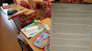 Ursynów. Nauczycielka napisała do uczniów list
