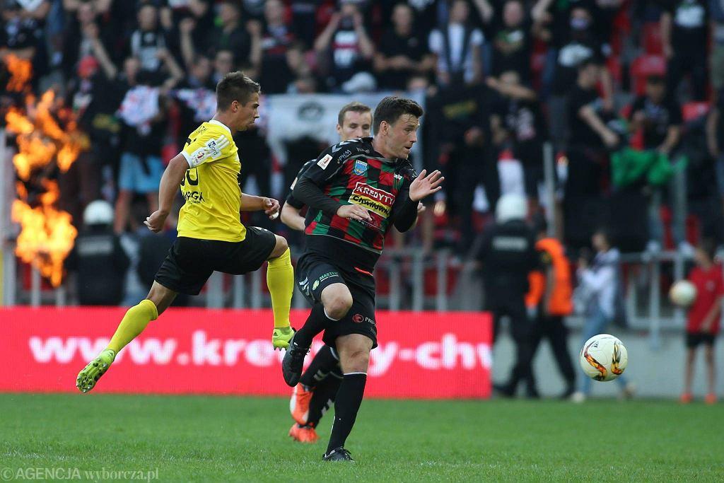 GKS Tychy - GKS Katowice 1:0. Łukasz Grzeszczyk