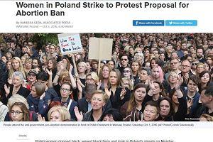 """""""Czarny protest"""" w zagranicznych mediach. AP pod wrażeniem frekwencji, Bloomberg cytuje Waszczykowskiego"""