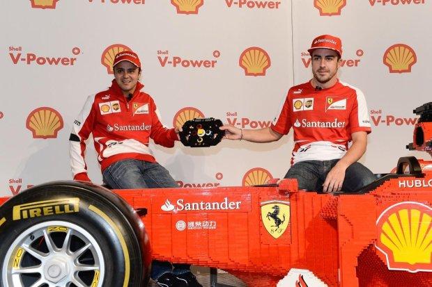 Bolid Ferrari w skali 1:1