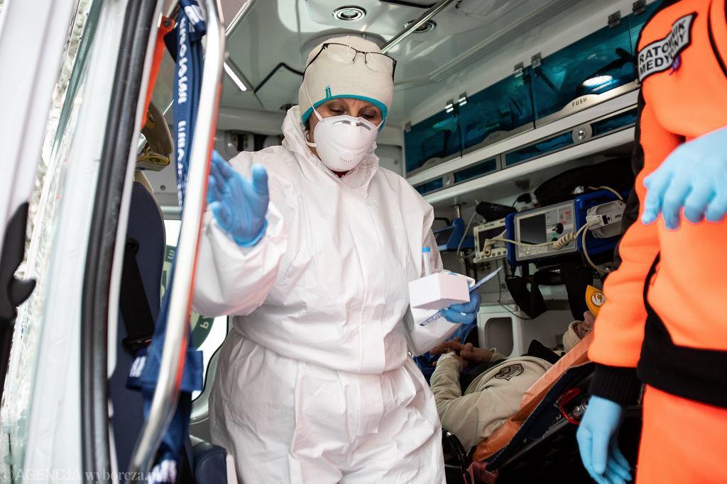 Pandemia koronawirusa. Samodzielny Publiczny Szpital Kliniczny Nr 4 w Lublinie, 13 stycznia 2021