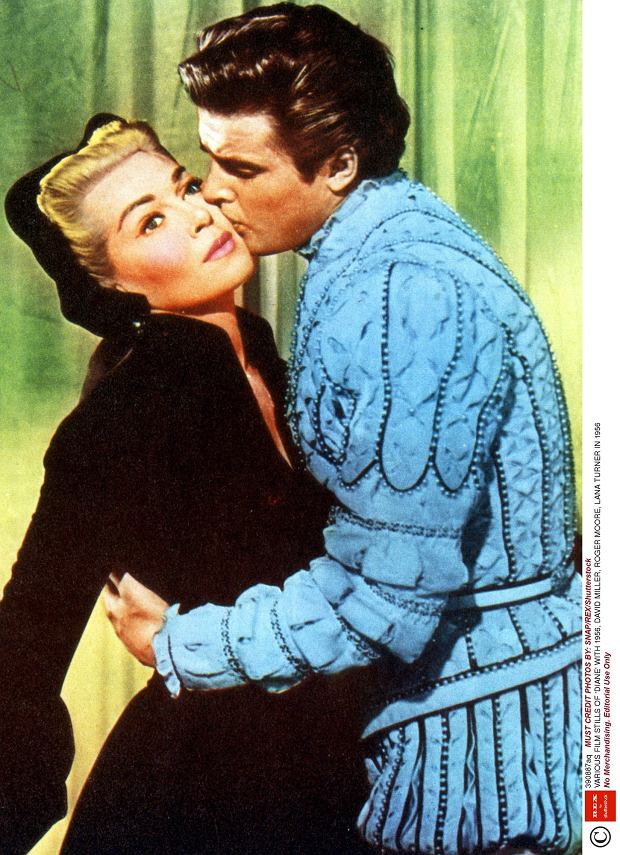 Roger Moore i Lana Turner