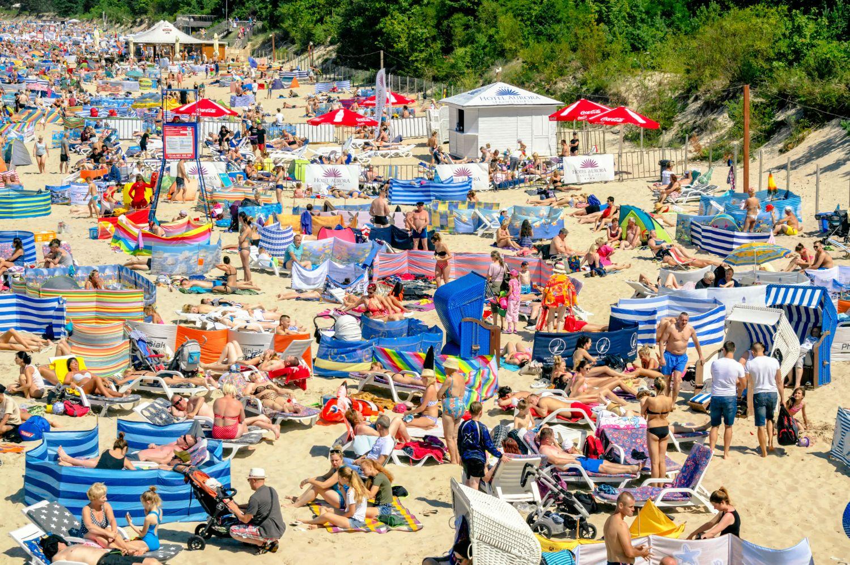 Plaża w Międzyzdrojach (fot. Shutterstock)