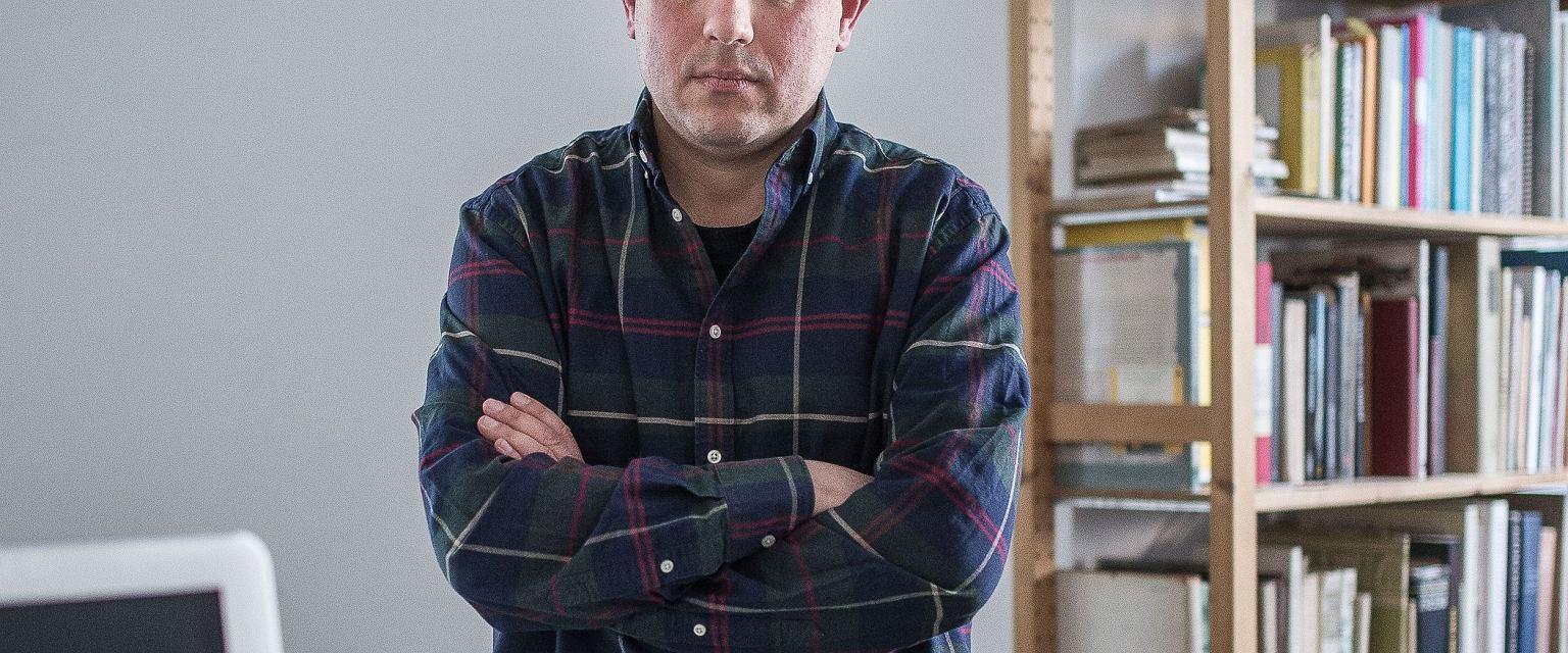 Marcin Wicha (fot. Filip Springer)