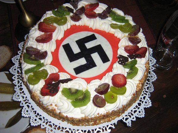 Tort zrobiony na zamówienie neofaszysty z Białegostoku. Zdjęcie z akt śledztwa CBŚP
