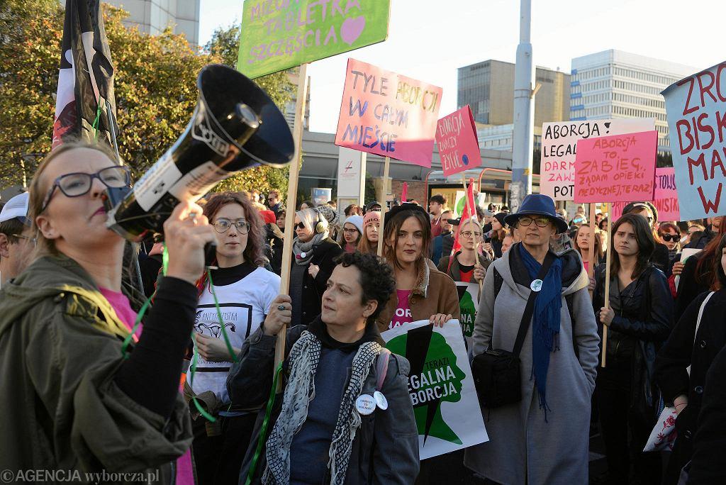 Marsz pro-choice 'Bez wstydu, bez leku, bez strachu'