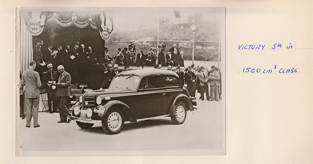 Opel Olympia Monte Carlo