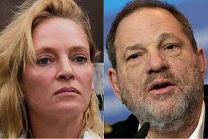 Uma Thurman i Harvey Weinstein