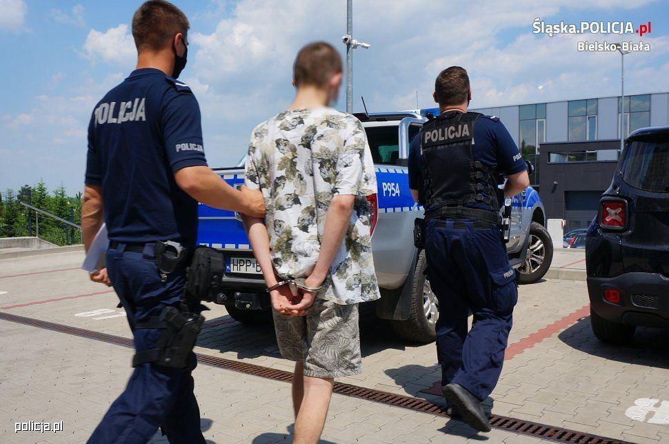 18-latek, który ukradł Audi