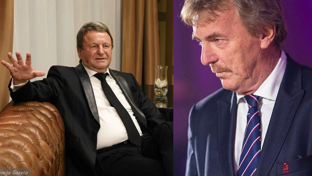 Józef Wojciechowski i Zbigniew Boniek
