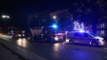 Kolizja z udziałem Beaty Szydło w centrum Krakowa.