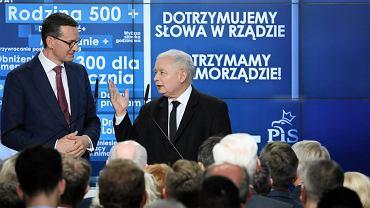 Wybory do europarlamentu 2019. Jarosław Kaczyński i Mateusz Morawiecki pojawią się w Radomiu