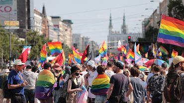 Parada Równości 2021 w Warszawie