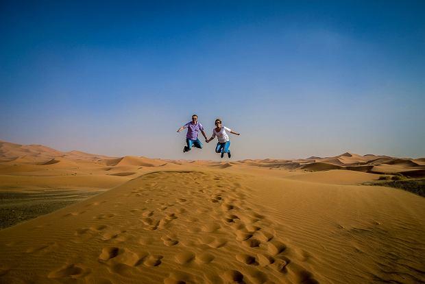 Co tam plaża, witajcie na marokańskiej pustyni! / fot. Paulina Anioła