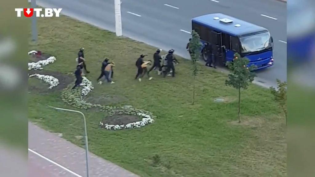 Kolejne zatrzymania w Mińsku