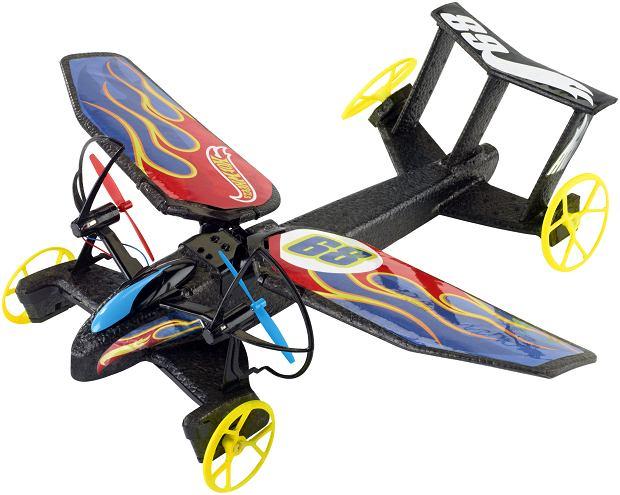 Sterowanym pojazdem latającym Sky Shock Hot Wheels