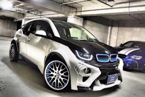 BMW i3 EVO   Pierwszy tuning