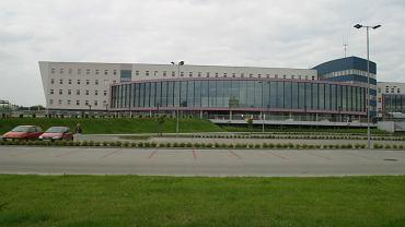 Nazywany 'Pentagonem' Urząd Miejski w Dąbrowie Górniczej
