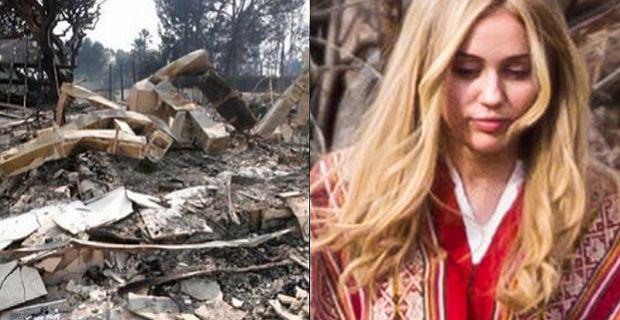 Pożary szaleją w Kalifornii. Ogień pochłonął luksusowe rezydencje gwiazd!